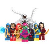 Set Anti Venom Giganta Talia Goliath Compatible Con Lego