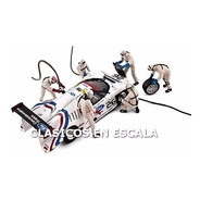 Figurine Set Le Mans 6 Figuras Para Diorama- F F1 Spark 1/43