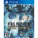 Final Fantasy Xv 15 Royal Edition Fisico Nuevo Ps4 Dakmor