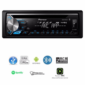 Estereo Para Auto Pioneer Bluetooth Usb Aux Radio Hd Mixtrax