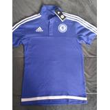 Camiseta Polo adidas Chelsea. Chelsea Fc