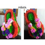 Piñata, Chupetero, Caja De Regalos Y 6 Cotillones De Moana
