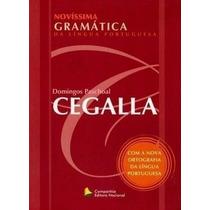 Novíssima Gramática + Gabarito Exercícios - 48 Ed. Cegalla