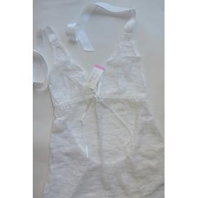 Vestido Camisolin Less Blanco T3 Sexy Mordisco Elroperito