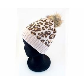 Sombrero Gorro Tejido Importado Moda - Animal Print