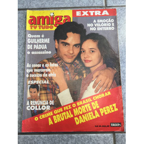 Revista Amiga Especial Daniela Perez Guilherme De Pádua