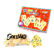 Domino Numeros Infantil De Madera Gordillo Planeta Juguete