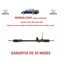 Caja Cremallera Direccion Mecánica Manual Honda Civic 1994