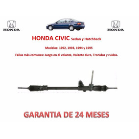 Caja Cremallera Direccion Mecánica Manual Honda Civic 1992