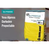 Alpress Yeso Revoque Proyectable Bolsa 35kg