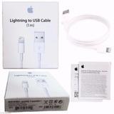 Cabo Usb Lightning Apple Iphone Original 5c 5s 6 7 Ipad Ipod