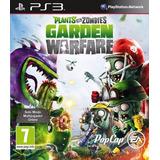 Juego Ps3 Plants Vs Zombies Garden Warfare Fisico Sellado