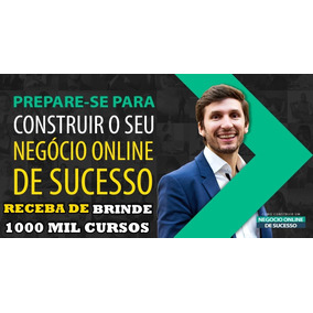Curso Negocio Online De Sucesso Bruno Pinheiro+1000 Cursos