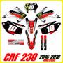 Kits Adhesivos Gráficos Para Motos Honda Crf 230 2015 / 2016