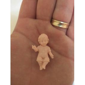 12 Niño Dios Miniatura Para Pintar, Manualidades, Recuerdos.