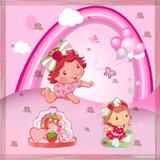 Painel Decorativo Festa Banner 1,5 X 1 Moranguinho Baby