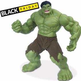 Boneco Gigante 55cm Hulk Avengers Os Vingadores Marvel + Nf