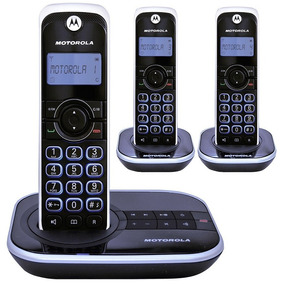 Telefono Inalambrico Motorola Triple Dect6 Gate4500ce-3 Cont