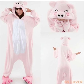 Pijama Mameluco Disfraz Cosplay Unisex Animal Cerdo Xtreme