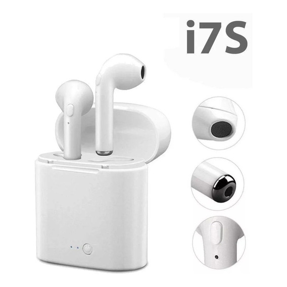 Auriculares Bluetooth Inalambricos In Ear Con Base Recargable Earpods