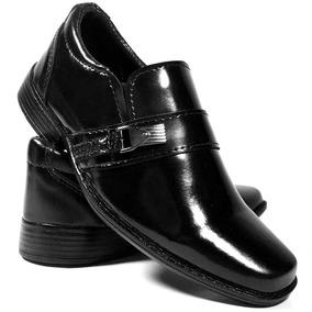 Sapato Social Infantil Tamanho Pequeno 25 A 36 Masculino 04