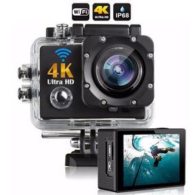Camera 4k Action Cam Go Sports Pro Hd Wi-fi Filmadora