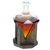 Decantador De Whisky De Diamante 1000ml Decanter De Licor De