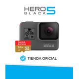 Camara Gopro Hero 5 Black 4k Dep Combo Mem 32gb Tienda Ofic