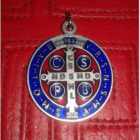 Medalla San Benito Italiana 2 Cm Excelente Definición!!