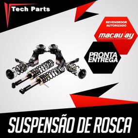 Kit Suspensão Regulável Rosca Macaulay Saveiro G2 G3 G4