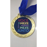 Medalha Personalizada 4 Cm