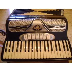Acordeón A Piano Marca Florentino 120 Bajos Italiano Estuche
