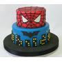 Torta Capitan America Superheroes Spiderman Hulk Batman