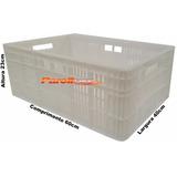 Caixa Plastica Vazada Polietileno 47l P/ Camara Fria Açougue