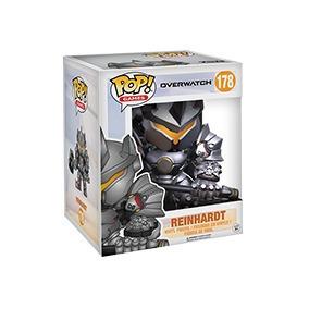 Figura Pop! Overwatch Super Sized Reinhardt