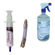 1 Badox F39 Bactericida Limpeza Ar E 1 Tapa Fugas F6 - 15ml