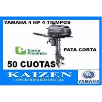 Yamaha Fuera Borda F 4 Bmhs 4 Tiempos Pata Corta