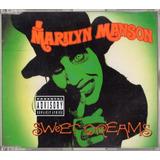 Marilyn Manson Sweet Dreams Single Cd 4 Tracks Australia