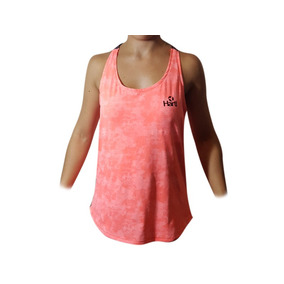 Id301 Musculosa Mujer Hartl Rosa Espalda Trenzada