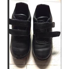 Zapatos Gigettos Colegial Negros Para Niños