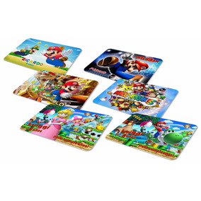 Manteles Mario Bross Luigi Peach Personalizados Para Fiesta