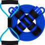 Elástico Azul + Corda Azul