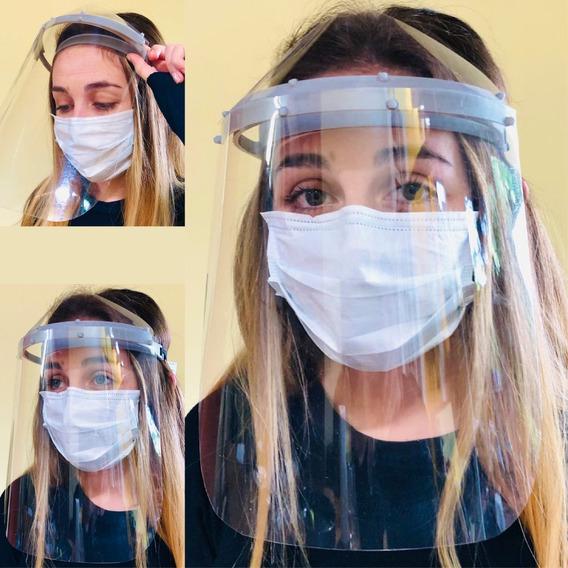 Mascara Protector Facial Transparente Completo Buena Visión