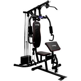 Estação De Musculação Com 80kg Aparelho Ginastica Academia