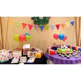 Mesa Dulce -candy Bar Y Torta P/30 Personas!