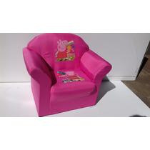 Mini Sofa Infantil Mickey Mouse Peppa Pig P/ Criança