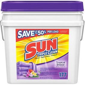 Sun Triple Clean Tropical Breeze Polvo Detergente De Lavande