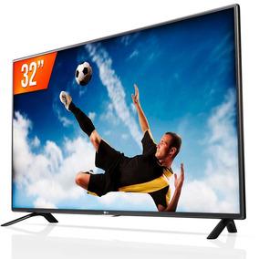 Tv Led 32 Lg 32lh510b Hd Com Conversor Digital Nova Promoção