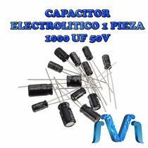Capacitor Electrolitico De 1000uf 50v 1 Pz
