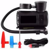 6 Mini Compressor Ar Automotivo Portátil 300 Psi 12v C/ Brin